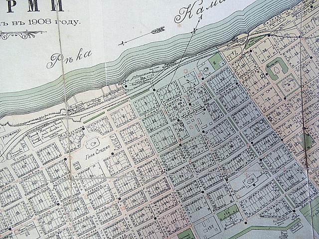 план губернского города перми 1908 интернет-магазине Платьице
