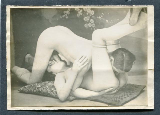 Рисованное порно начала 20 века