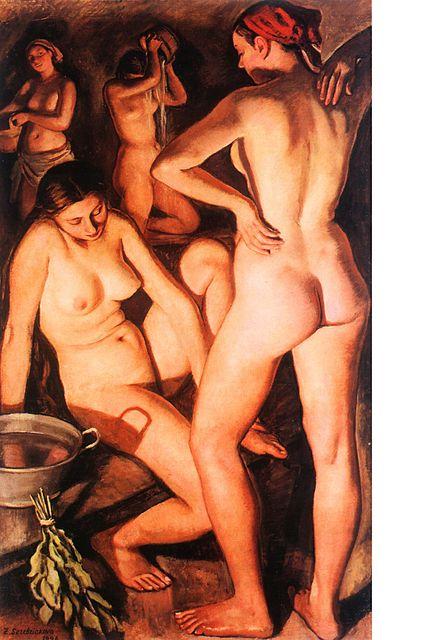 Эротика в живописи русских художников советского периода.
